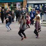 Flashmob takes Kirkby by surprise