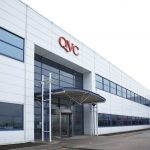 Exterior of QVC's Operations Centre in Kirkby, Knowsley