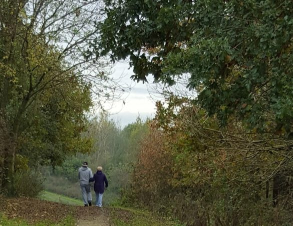 Walkers at Stadt Moers Park