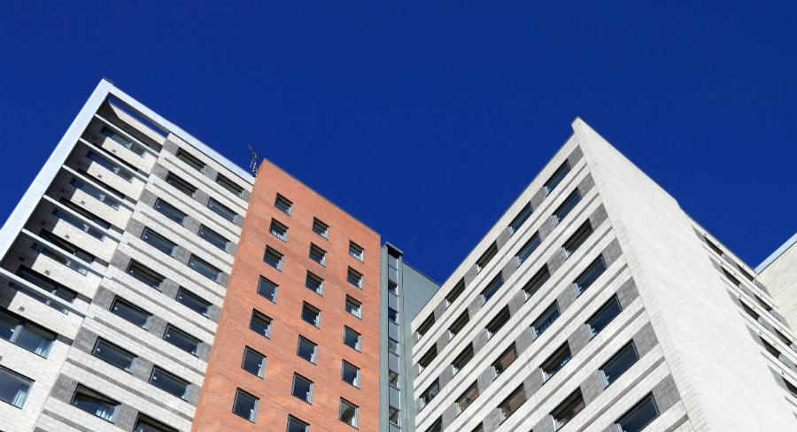 Residential tower block