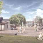 Architect Mark Wray's chosen design for Prescot Market Place