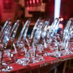 Educate Awards trophies