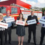 Cllr Shelley Powell, Cabinet Member for Communities and Neighbourhoods for Council, Cllr Ian Moncur, Cabinet Member for Health and Wellbeing for Sefton Council, Emily Spurrell, Deputy Police and Crime Commissioner for Merseyside, Mark Thomas, Group Manager, Prevention, Merseyside Fire & Rescue Service and Matthew Ashton, Director of Public Health for Knowsley and Sefton Councils