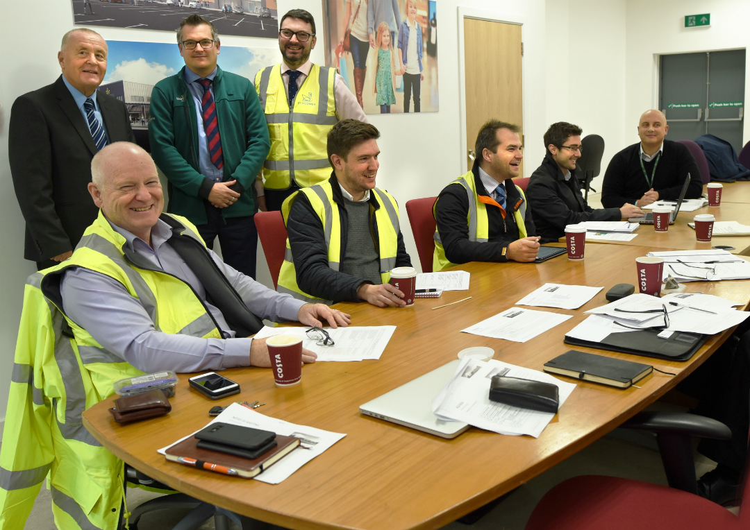 Representatives from the key investors involved in Kirkby town centre's development were on-site today discussing the finer details of the new Morrisons store's design and layout. This major scheme is expected to bring a £16m boost to the local economy and create hundreds of jobs.