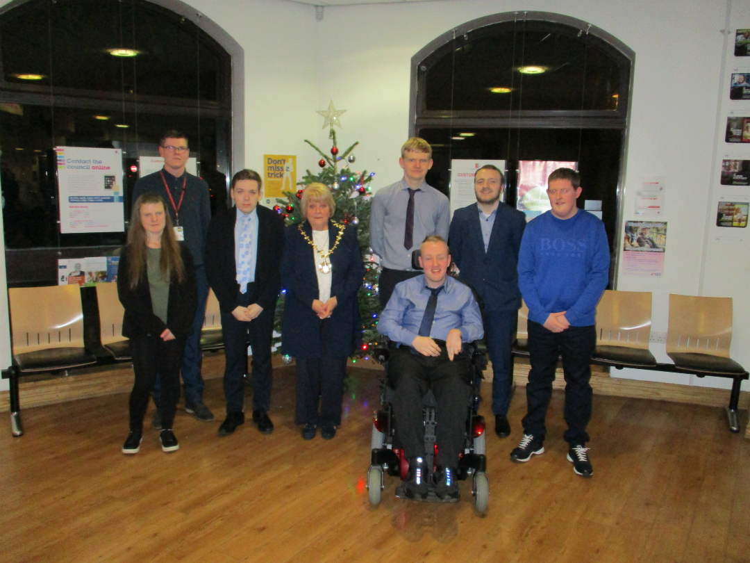 A group of young adults with learning difficulties or disabilities have been recognised for their achievements on the Knowsley Supported Internship programme.