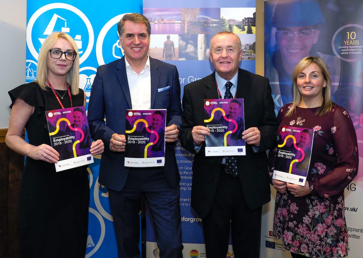 Launch of the Employability Skills Plan in Knowsley