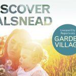Halsnead Garden Village identity