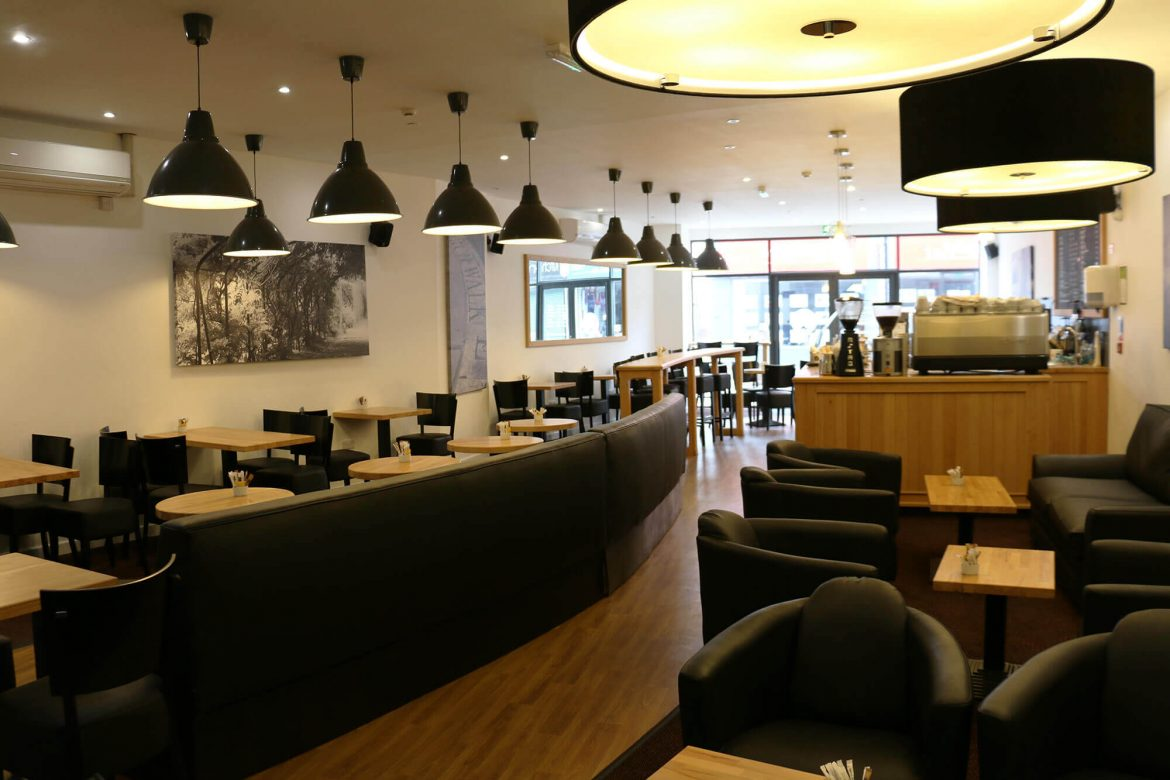 The Coffee House interior in Huyton