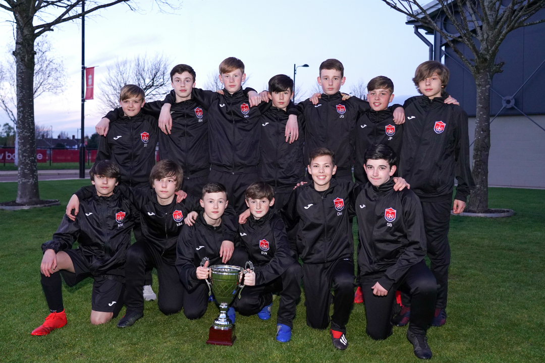 Knowsley and St Helens U13s are crowned ESFA North West League Champions