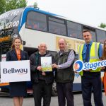Shuttlebus provided by Bellway for the Knowsley Flower Show