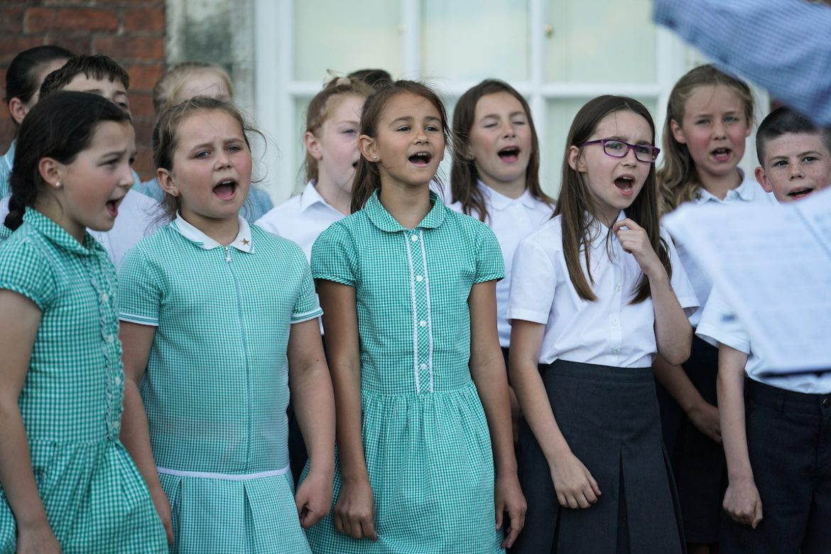 Pupils perform at the Knowsley Education Awards 2019