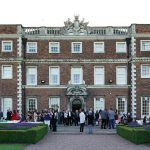 Guests outside Knowsley Hall before the start of the Knowsley Education Awards 2019