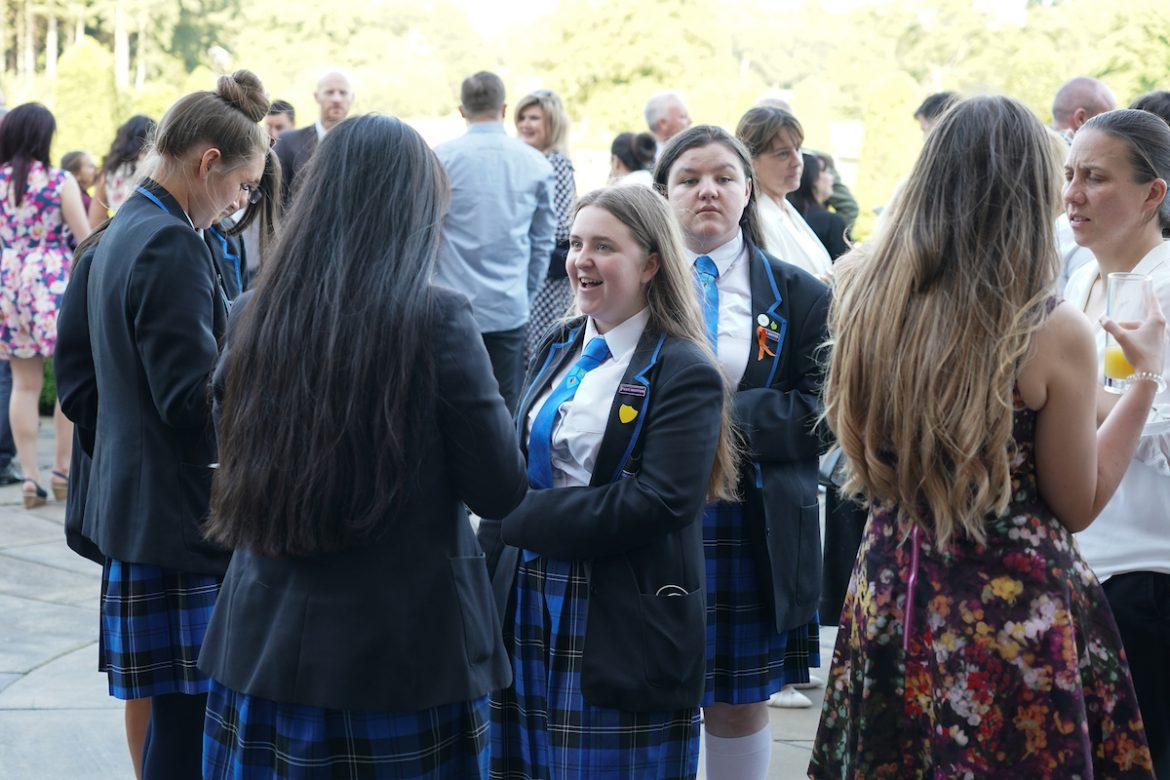 Guests at the Knowsley Education Awards 2019 held at Knowsley Hall