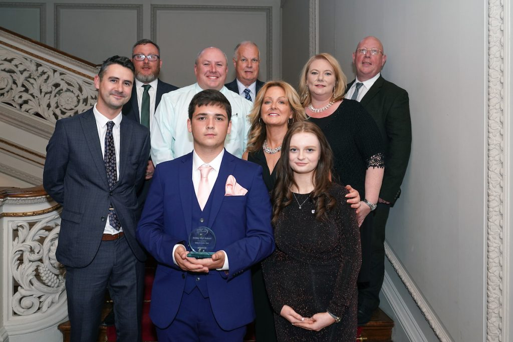 Kirkby High School were joint winners of School of the Year at the Knowsley Education Awards 2019