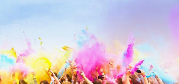colourful cultural celebration