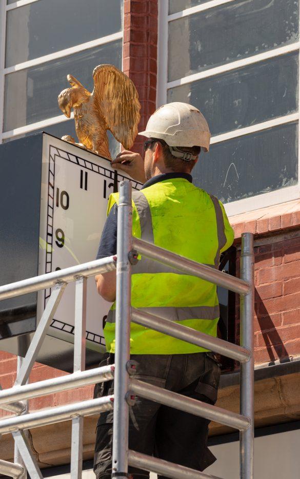 Prescot clock Eccleston Street
