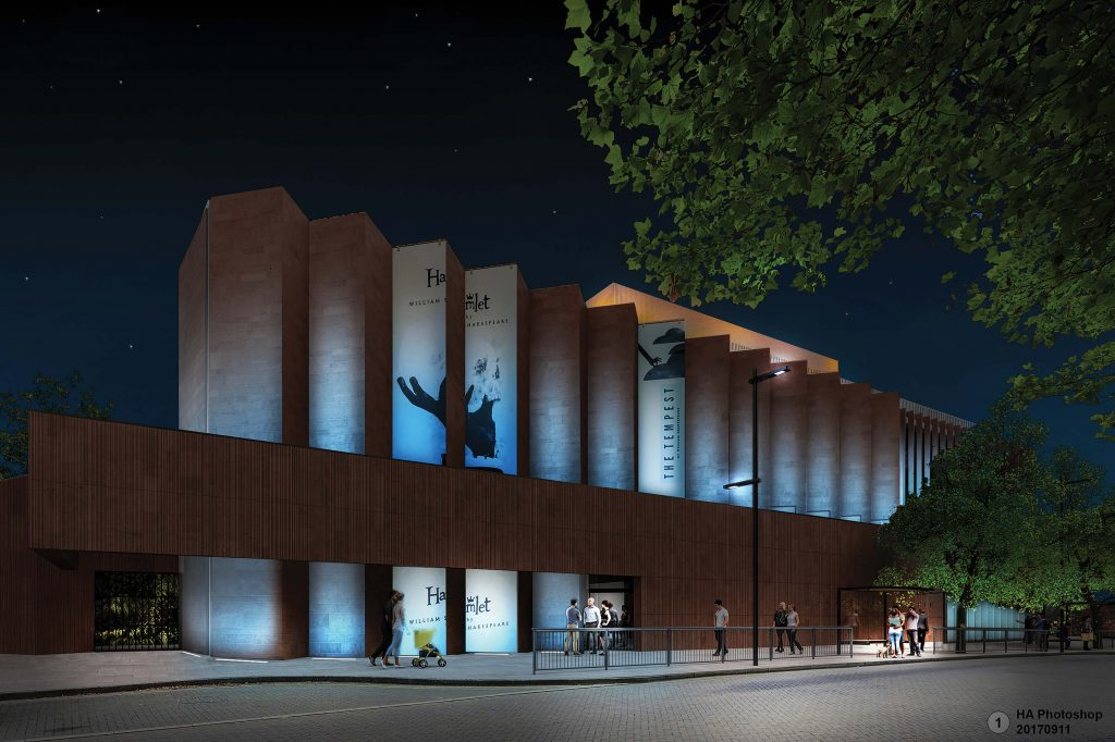 How the Shakespeare North Playhouse in Prescot will look