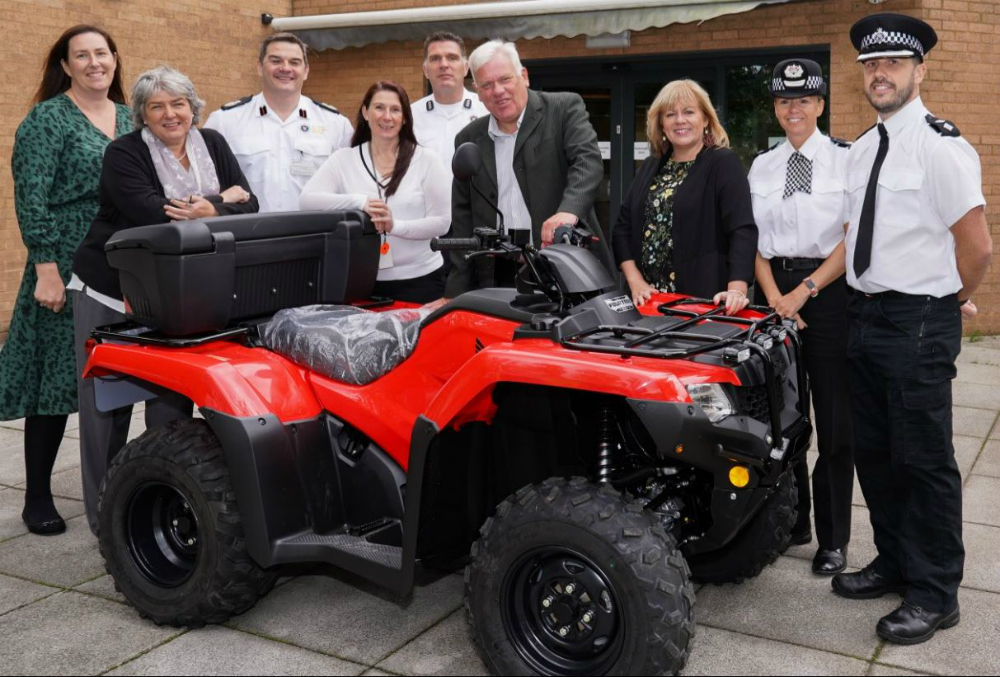 New quad bike for the police will help tackle anti-social behaviour in Knowsley.