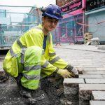 Apprentice Warren from Huyton Asphalt