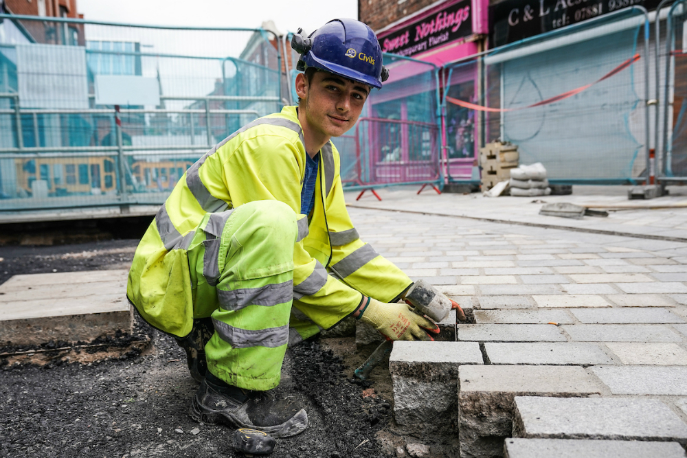Apprentice Warren from Huyton Asphalt