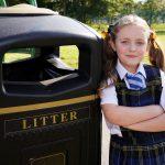 Litter campaigner Ava