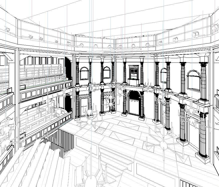 Interior theatre view
