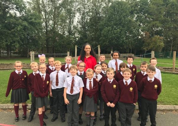 Katarina Thompson-Johnson at St Mark's Primary School