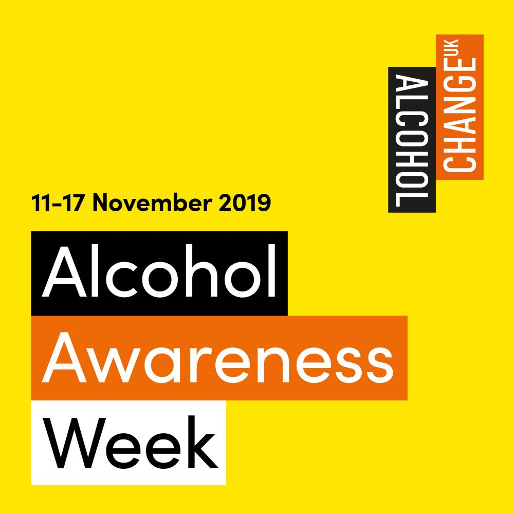 Alcohol Awareness Week 2019 logo