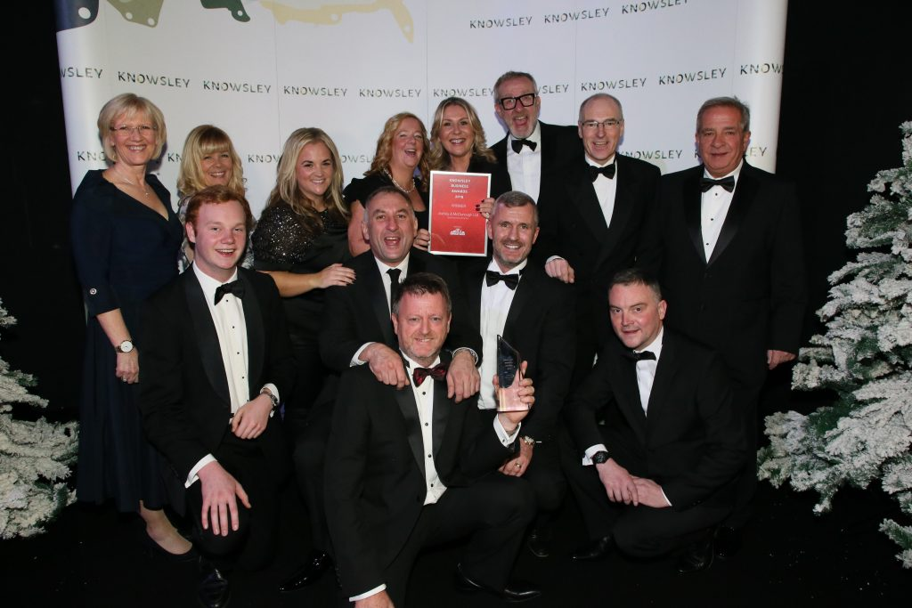 Ashley & McDonough, Small Business of the Year, Knowsley Business Awards 2019