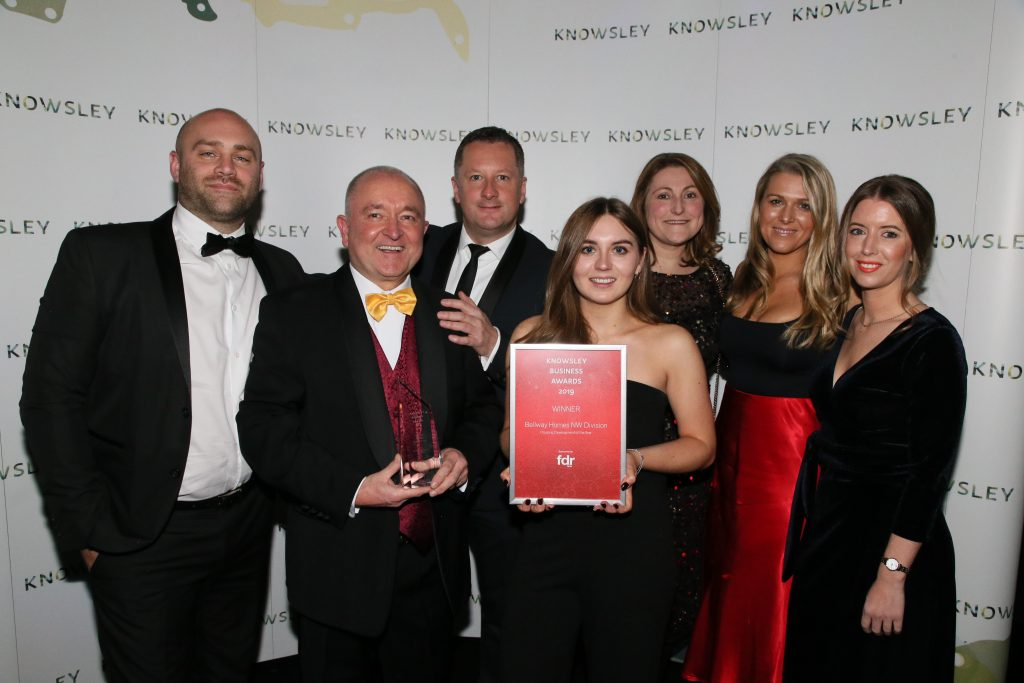 Bellway Homes, Housing Developer of the Year, Knowsley Business Awards 2019