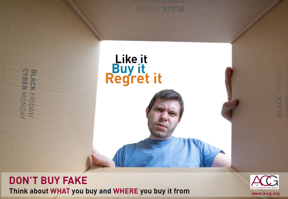 Black Friday fakes campaign