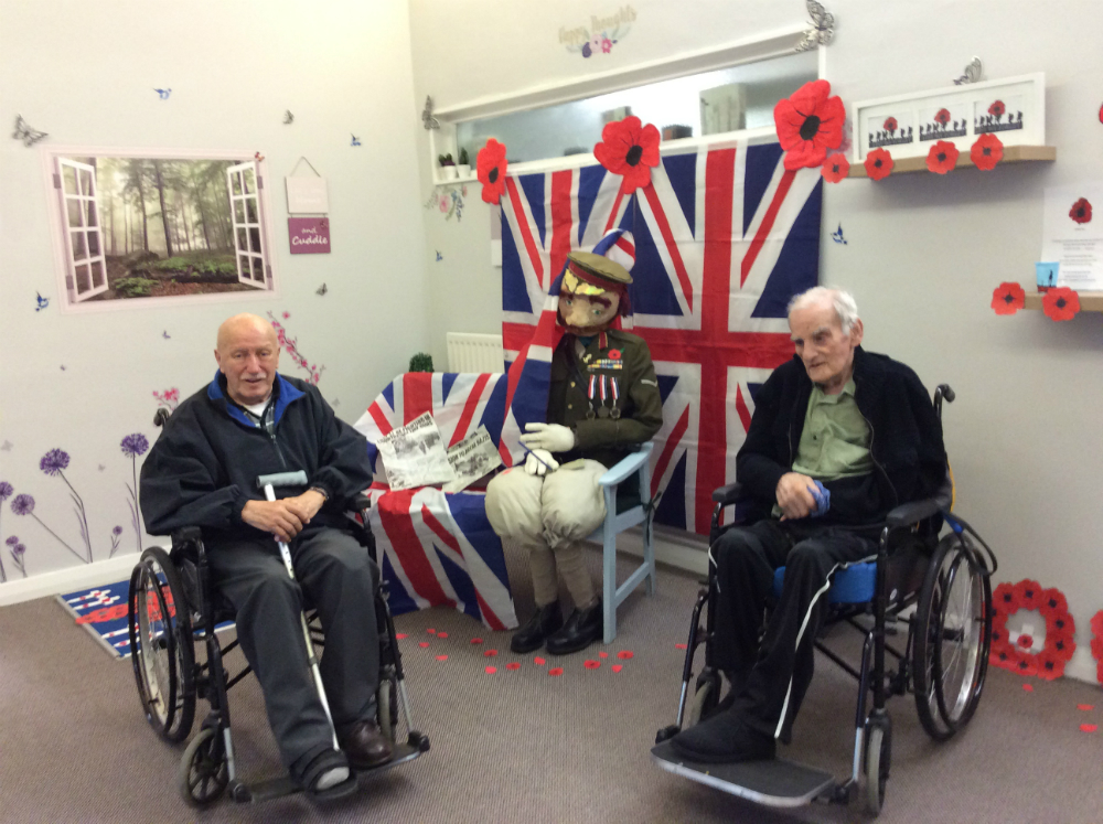 Kirkby Resource Centre marks Remembrance Day 2019