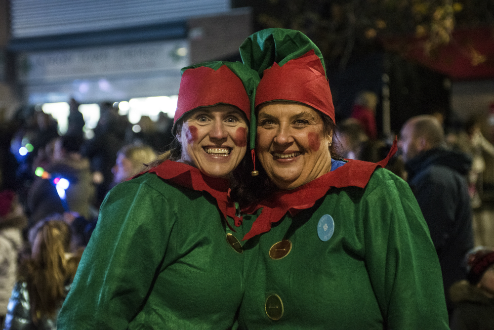 Kirkby Christmas Lights Switch on 2019