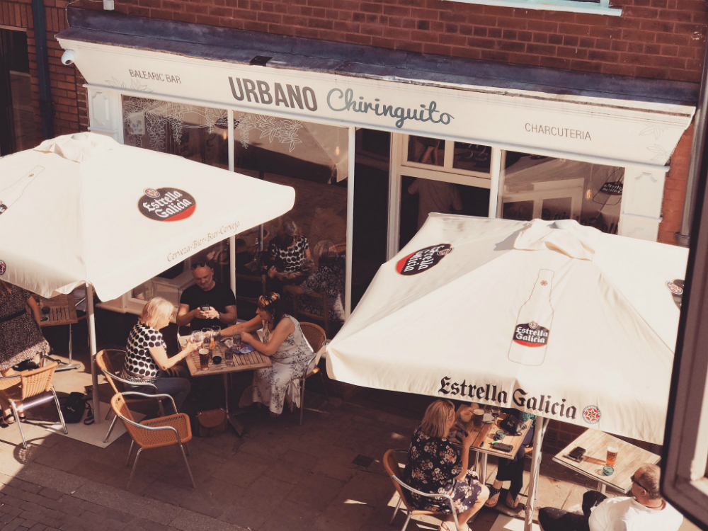 Outside Urbano Chiringuito in Prescot