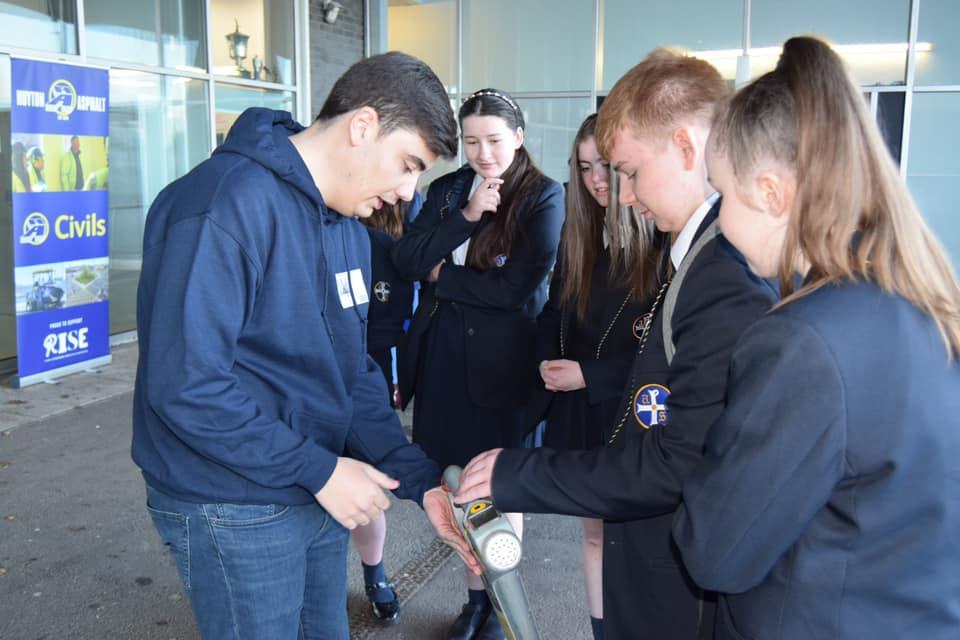 Kier visit All Saints Kirkby school
