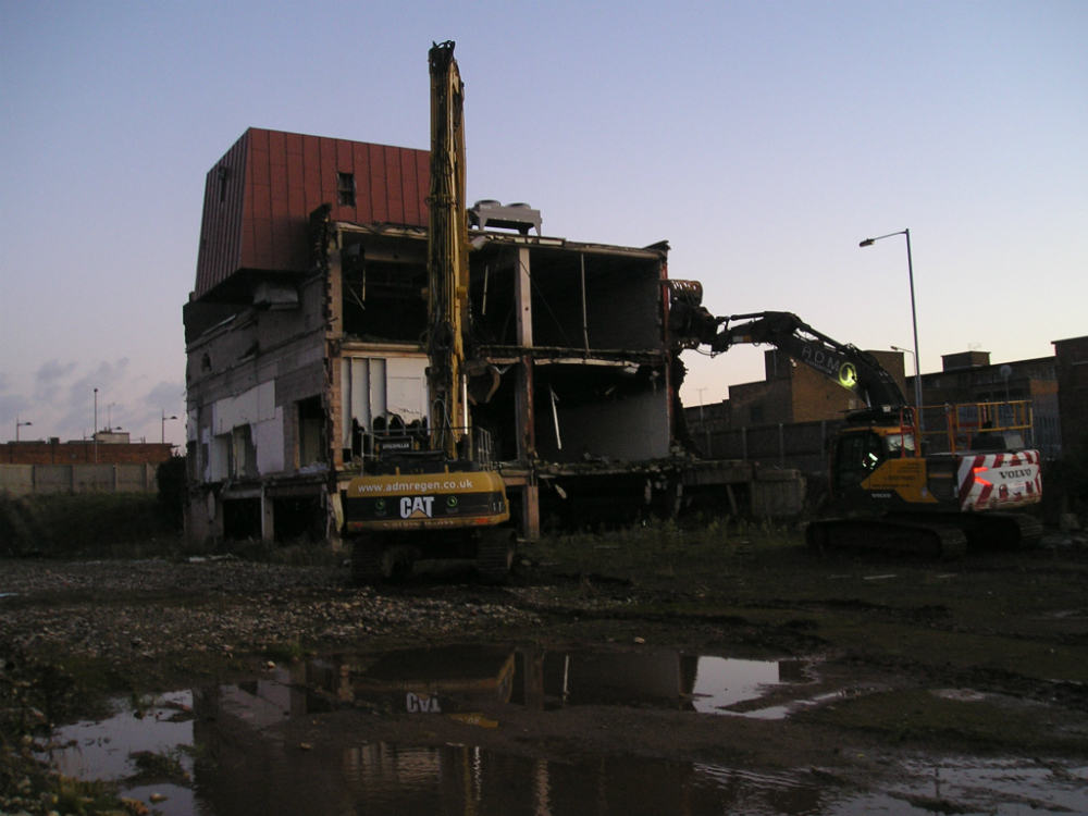Work has begun to deliver the long awaited retail development for Kirkby Town Centre