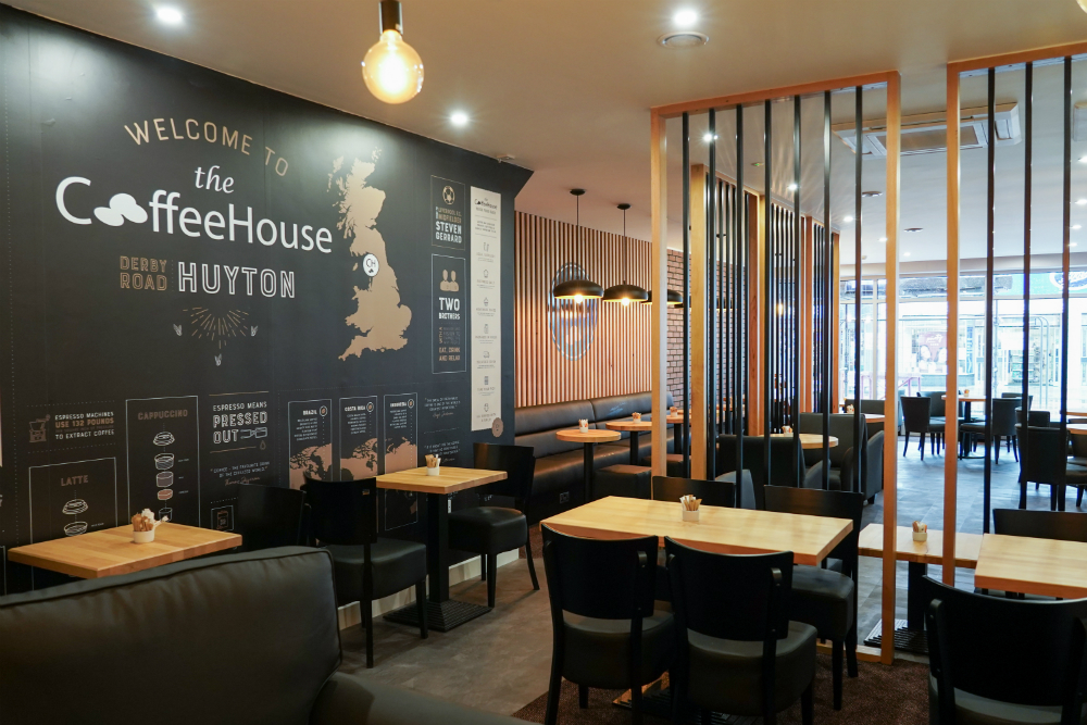 Inside The Coffee House in Huyton