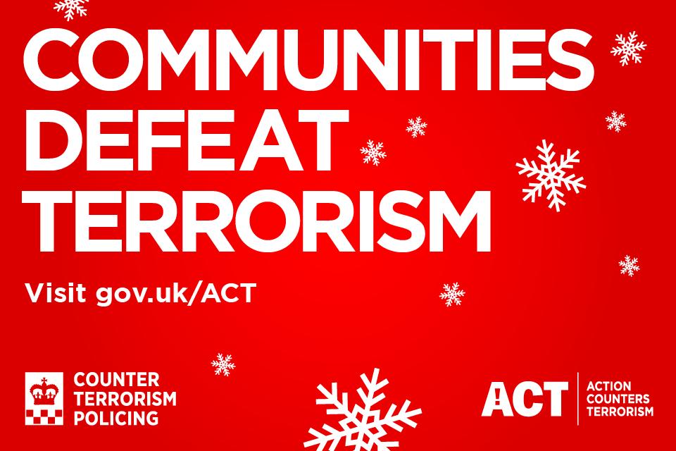 Communities defeat terrorism