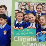 St Michaels and All Angels Primary pupils at the Knowsley Schools Climate Change Summit