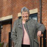 Tenant Lillian Dickenson at the new Barley Mow development in Stockbridge Village