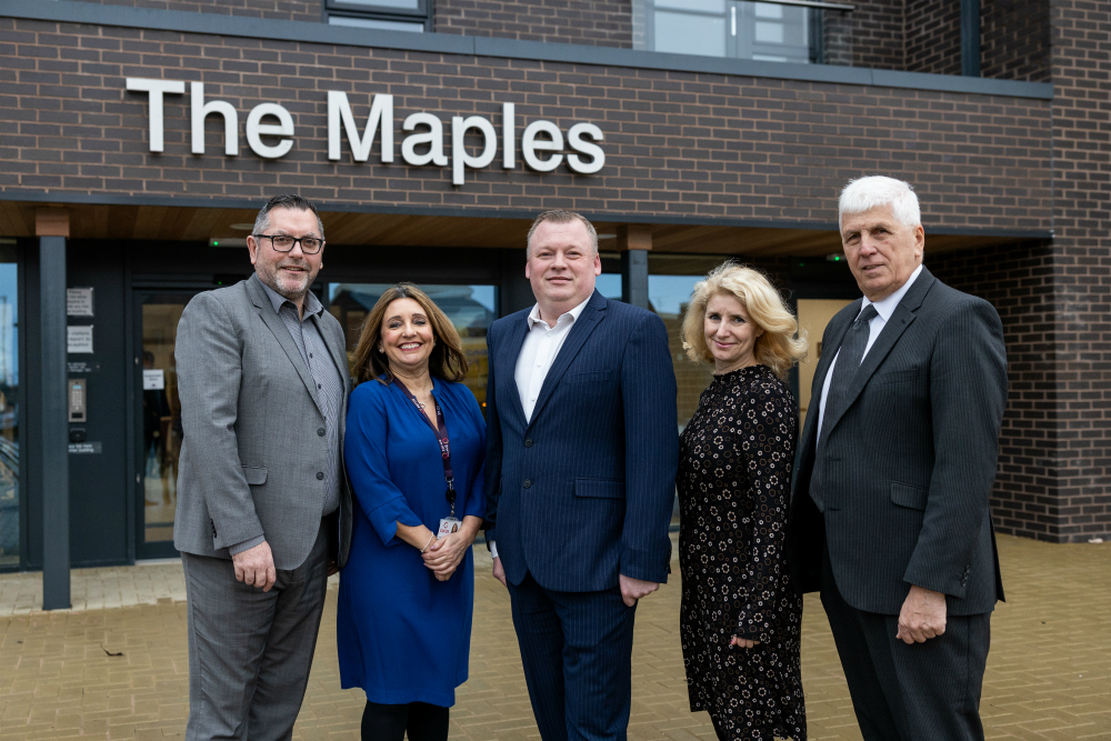 Official opening of The Maples Extra Care facility in Kirkby