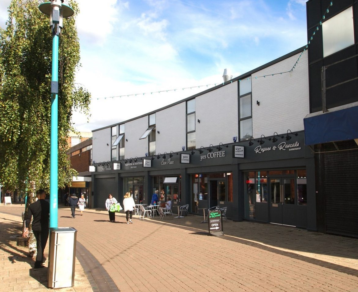 Phase 1 of Huyton shop front improvements - after