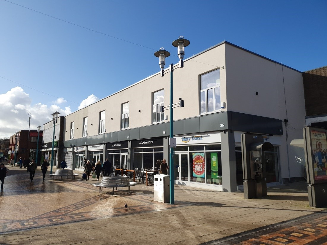 Phase 2 of Huyton shop front improvements - after