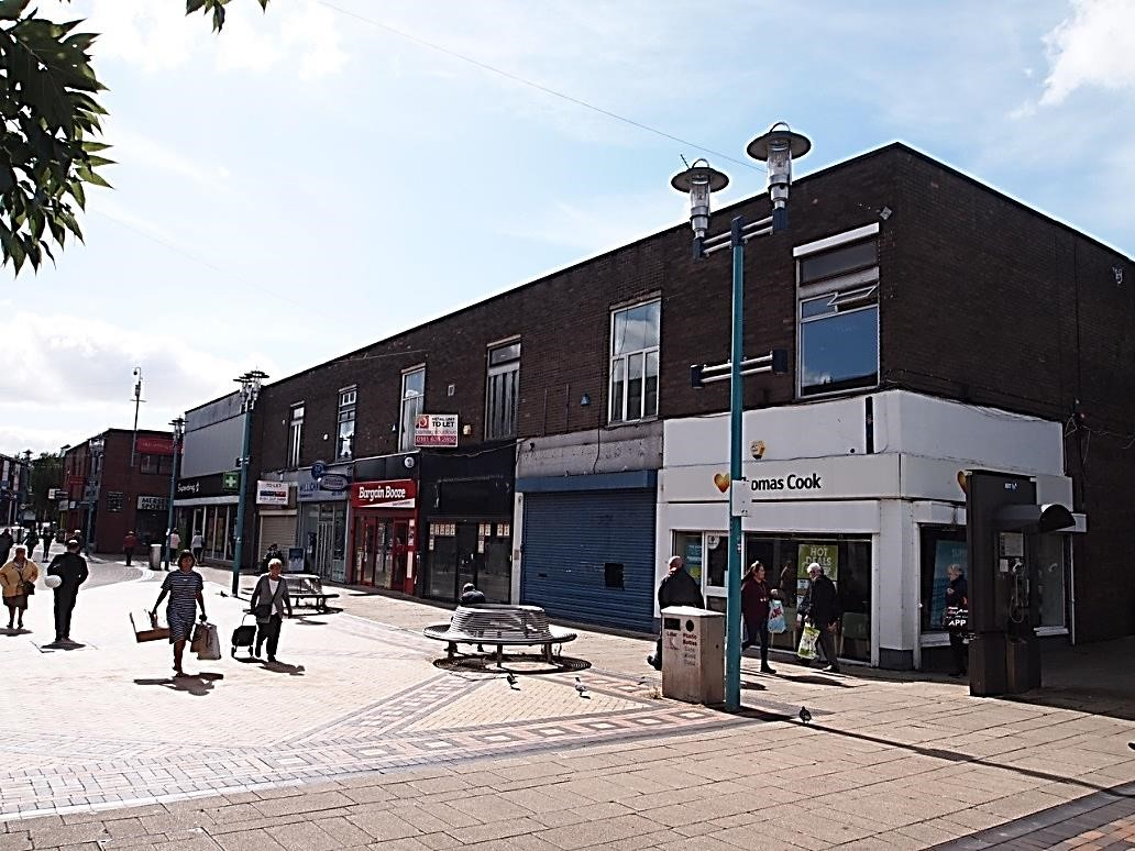 Phase 2 of Huyton shop front improvements - before