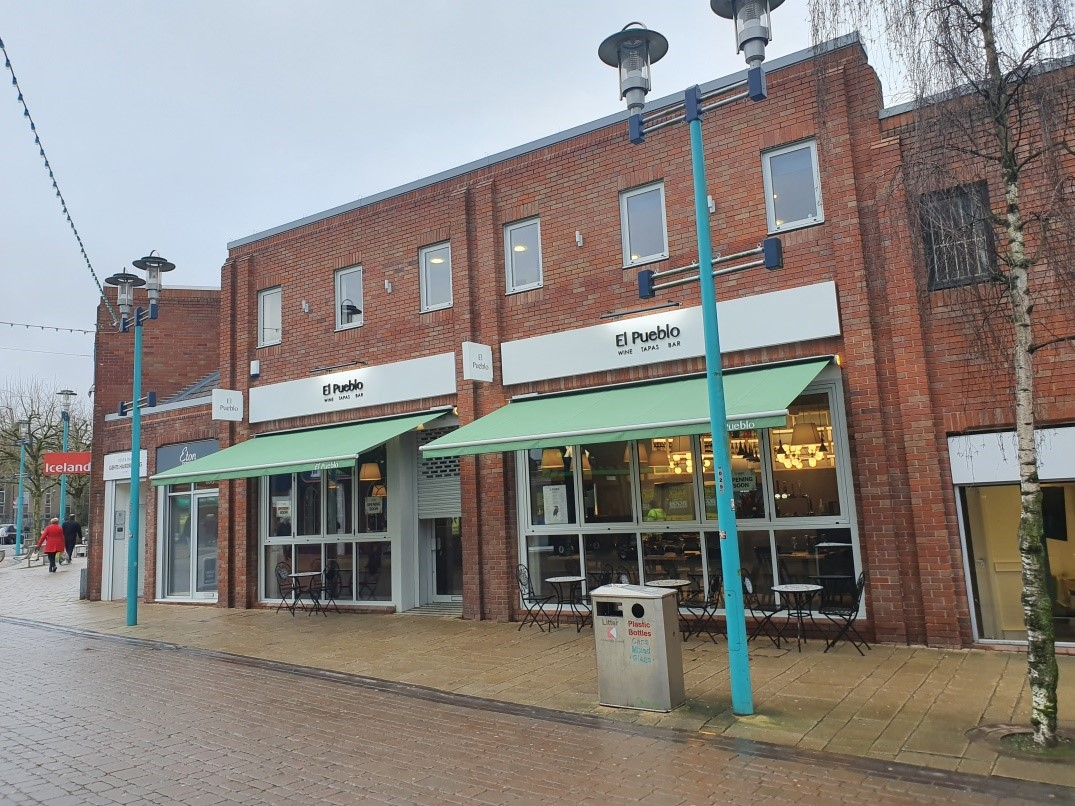 Phase 3 of Huyton shop front improvements - after