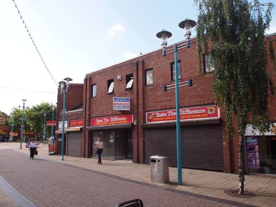 Phase 3 of Huyton shop front improvements - before