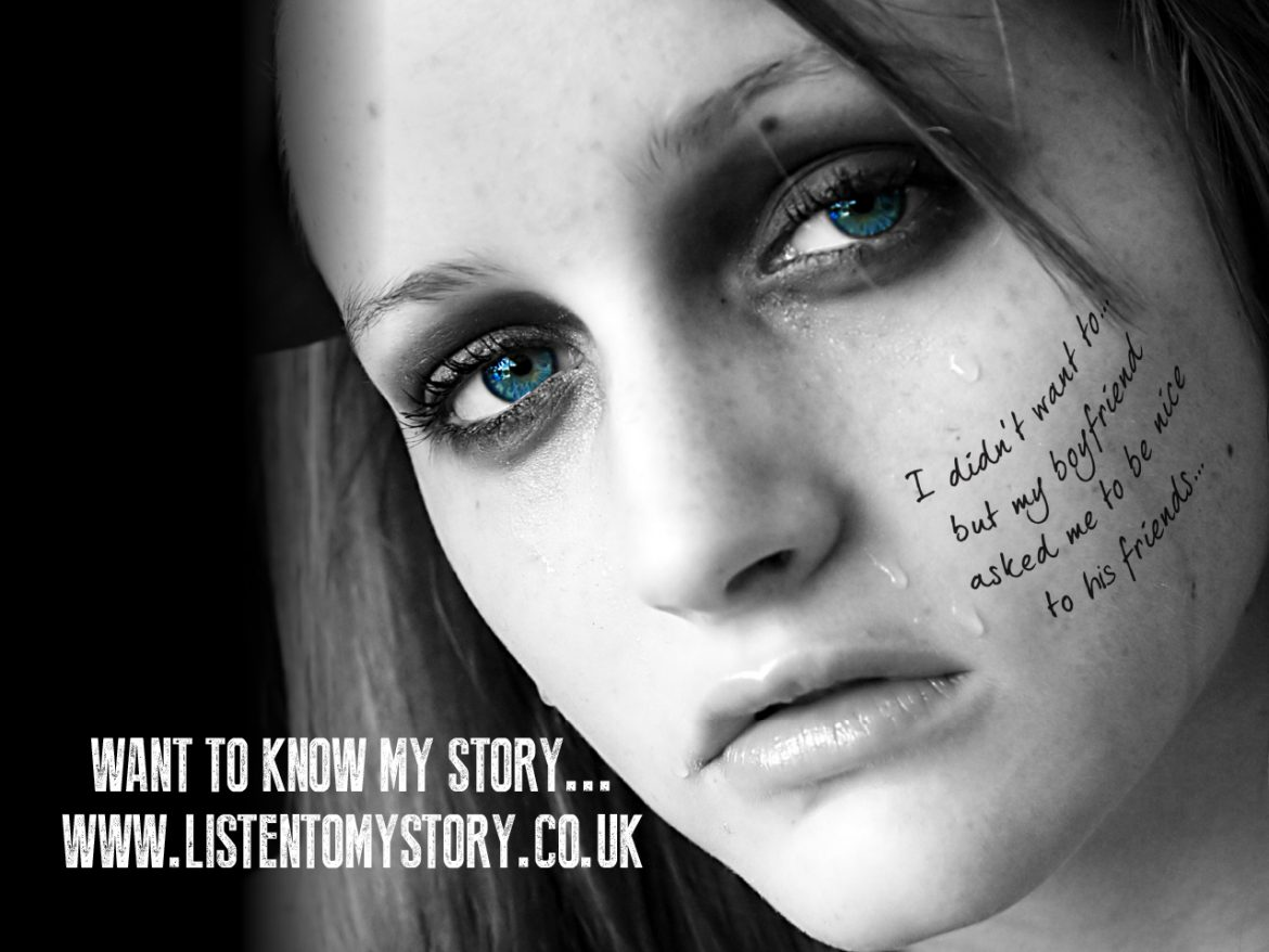 Listen to My Story Child Exploitation campaign