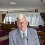 Cllr Graham Morgan, leader of Knowsley Council