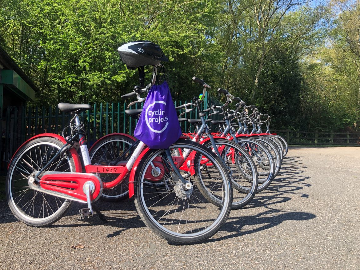 Cycling Projects bikes for NHS staff