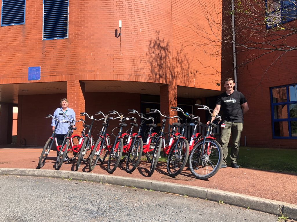 Cycling Projects bikes delivered to Alder Hey Children's hospital